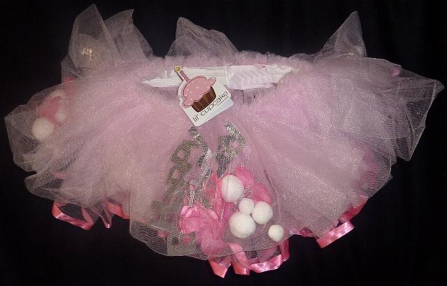 Pink First Birthday Tutu