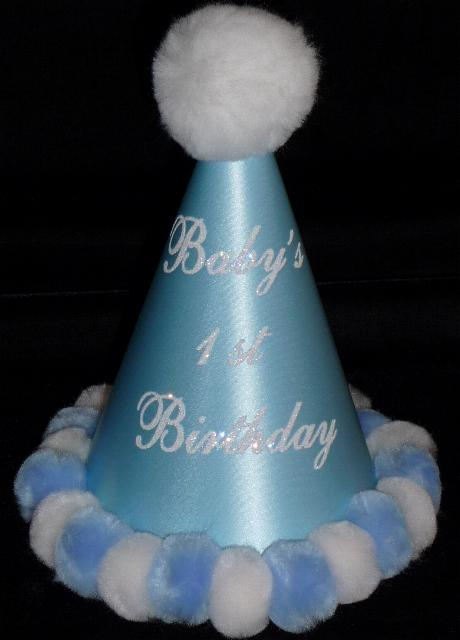 Boys First Birthday Hat
