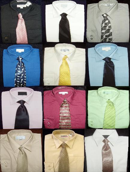 Boys Dress Shirt and Ties