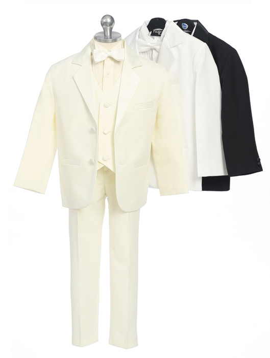 Young Mens Tuxedo with Vest