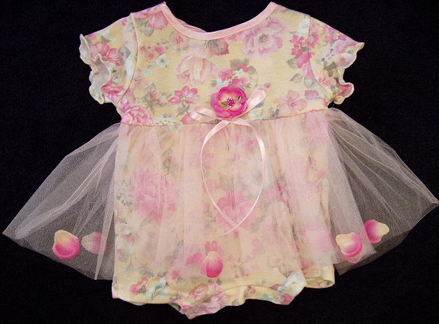Cach Cach Baby Flower Outfit