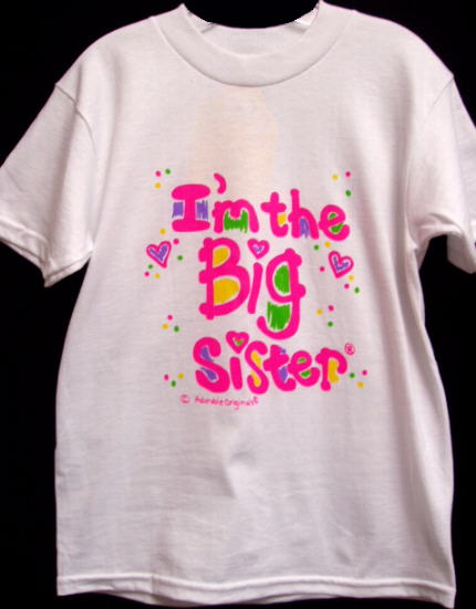 I'm The Big Sister T Shirt