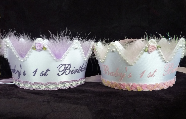 First Birthday Crowns