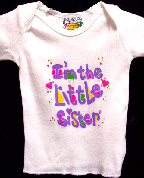 I'm The Little Sister T Shirt