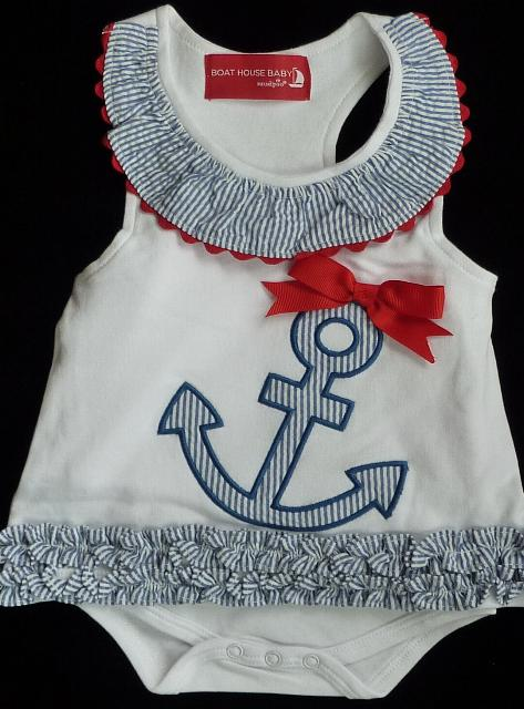 Baby Anchor Dress