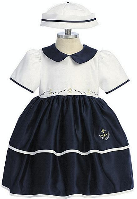 Sailor outfits for toddler girls baby or toddler girls sailor dress
