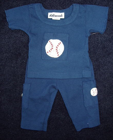 Baby Baseball Outfit