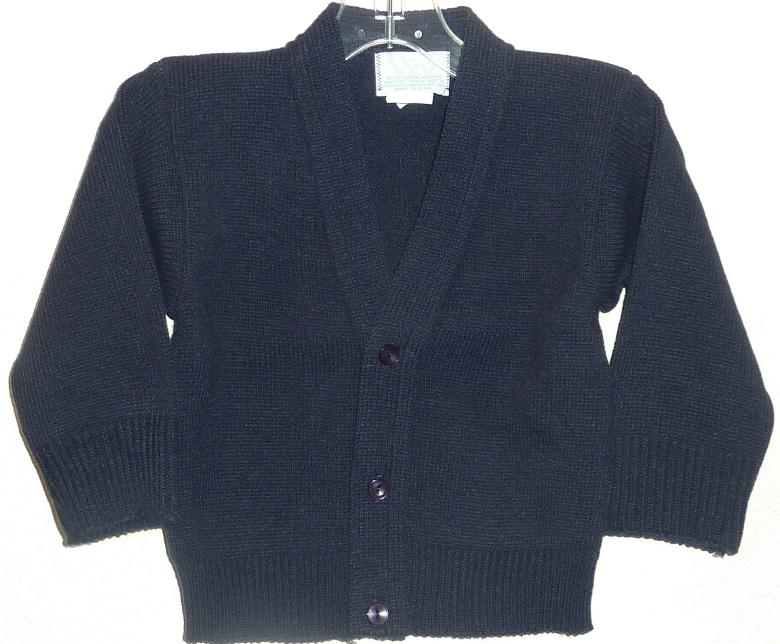 Baby Boys Navy Blue Sweater