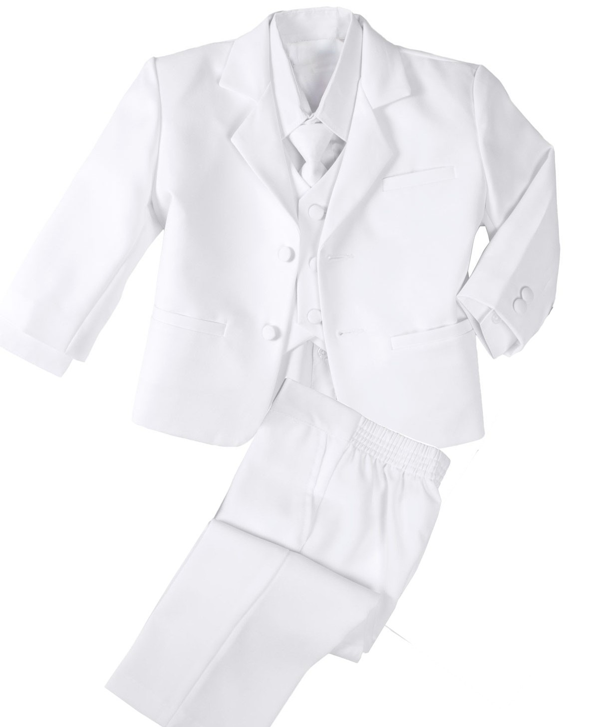 Baby Boys White Bargain Suit