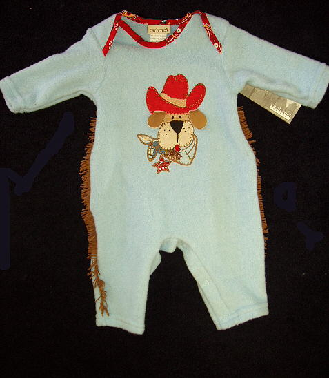 Baby Cowboy Dog Outfit