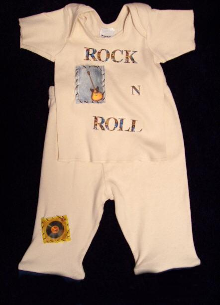 Baby Rock and Roll Outfit
