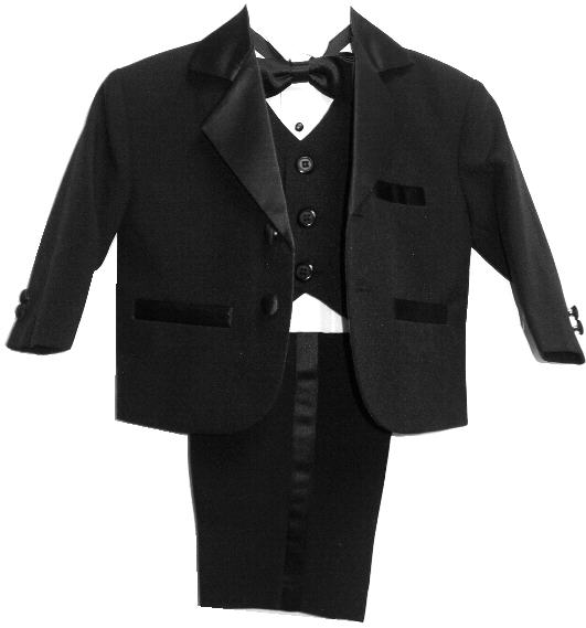 Baby and Infant Tuxedo with Vest
