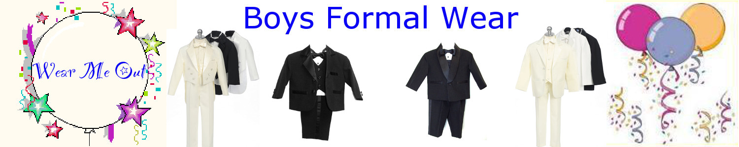 Boys Formal Wear