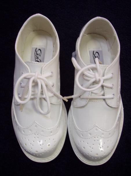 Big Boys White Dress Shoes