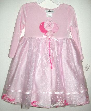 Girls Birthday Dress