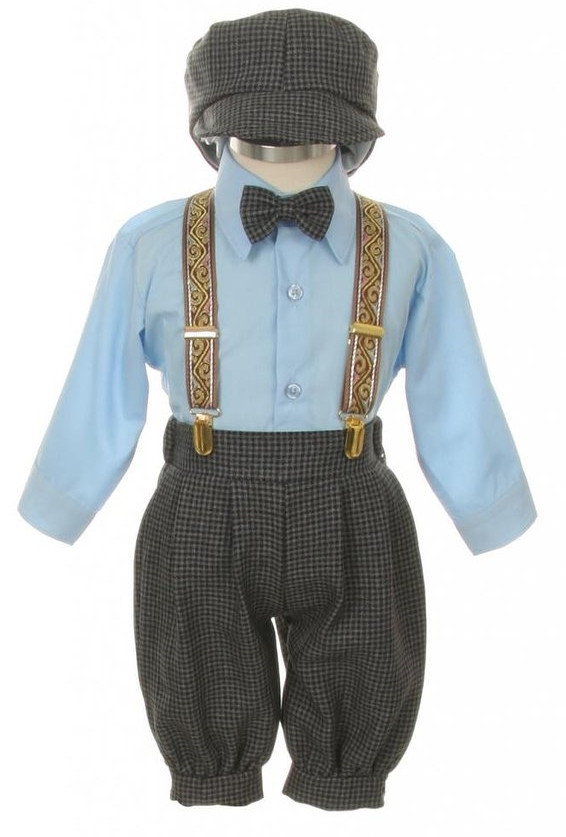 Baby and Infant Blue Knicker Suit