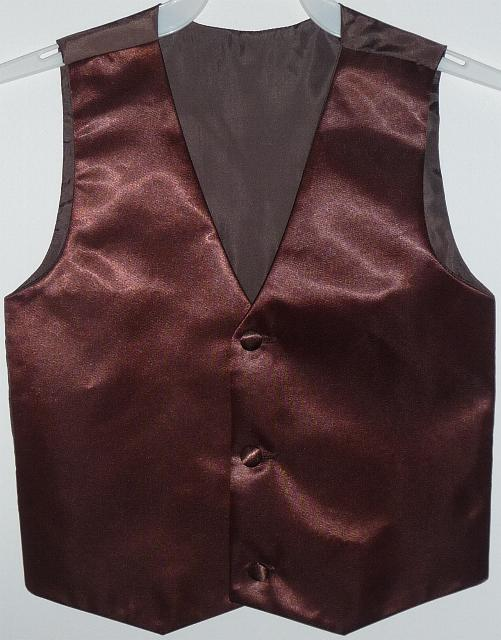 boys-brown-satin-vest