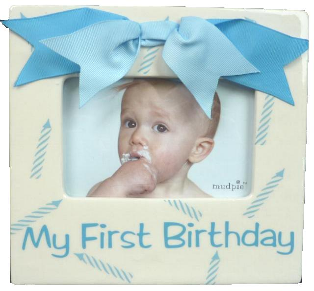 Boys My First Birthday Frame