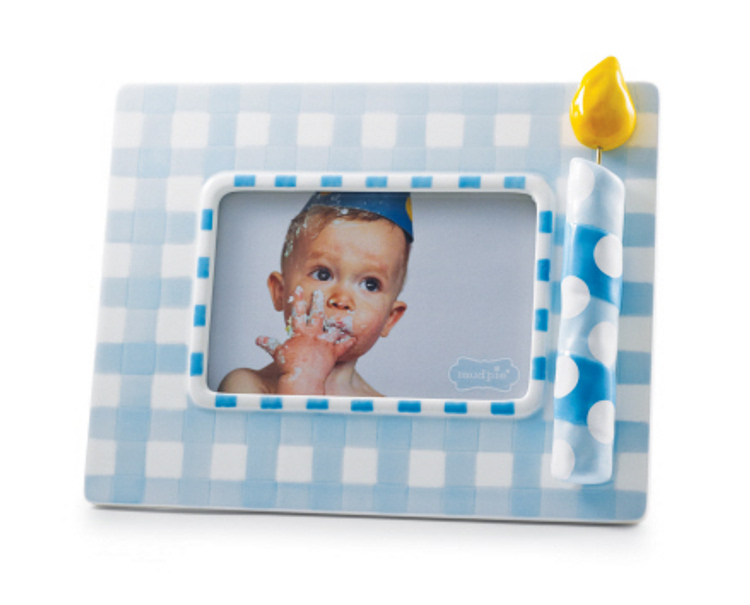 Boys First Birthday Frame