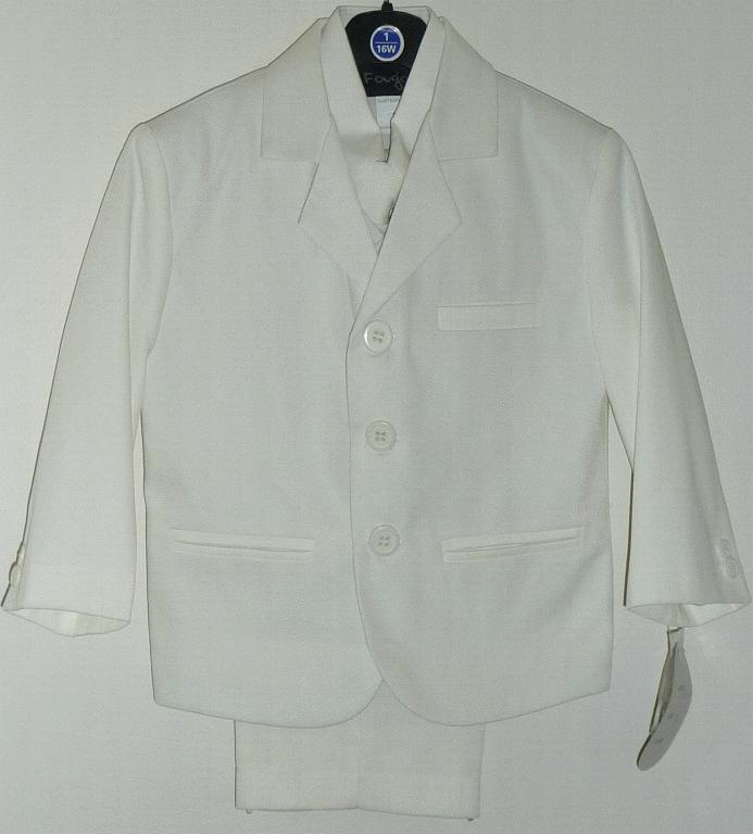 Young Mens Ivory Suit