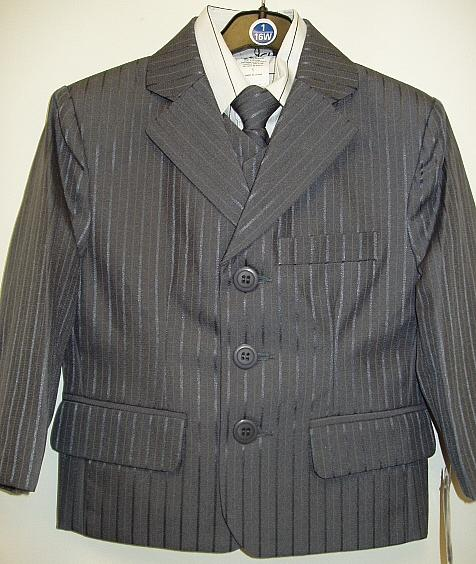 Baby and Infant Fancy Dark Grey Suit