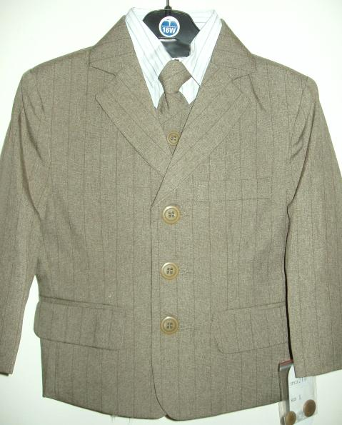 Baby and Infant Fancy Olive Suit