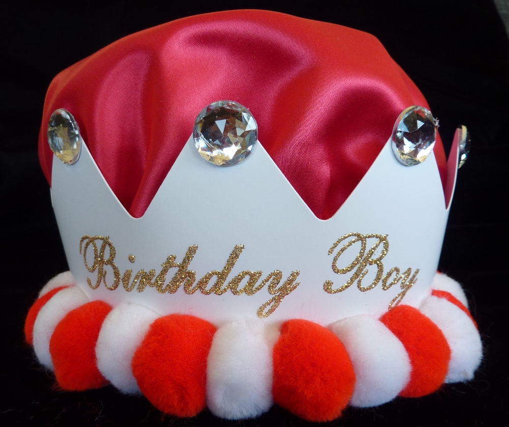 First Birthday Boy Boy Birthday Crown Boy Birthday: Birthday Hats