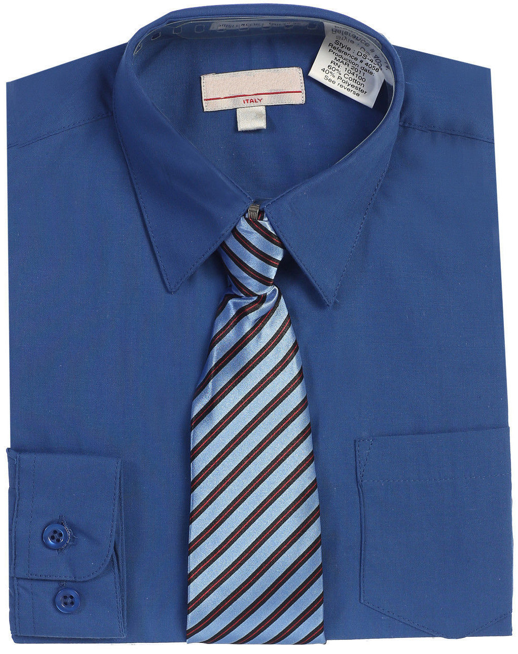Boys Royal Blue Shirt