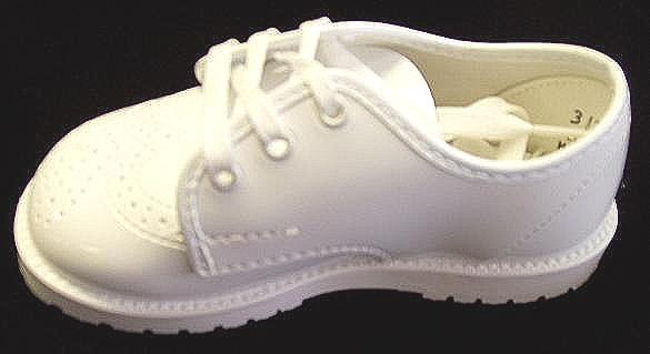 Boys White Dress Shoes