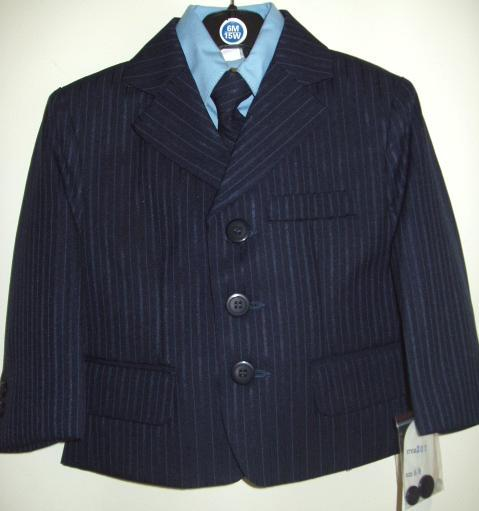 Young Mens Fancy Royal Blue Suit