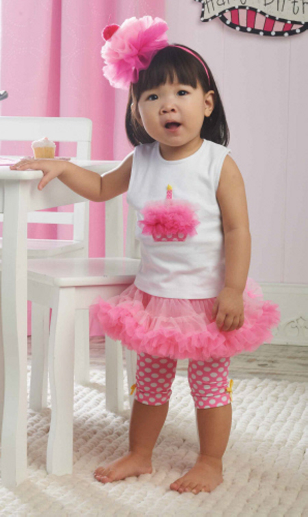 First Birthday Pettiskirt Outfit