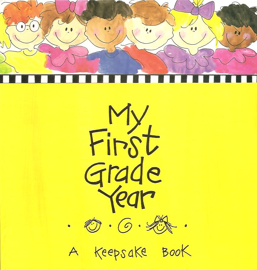 First Grade Scrapbook