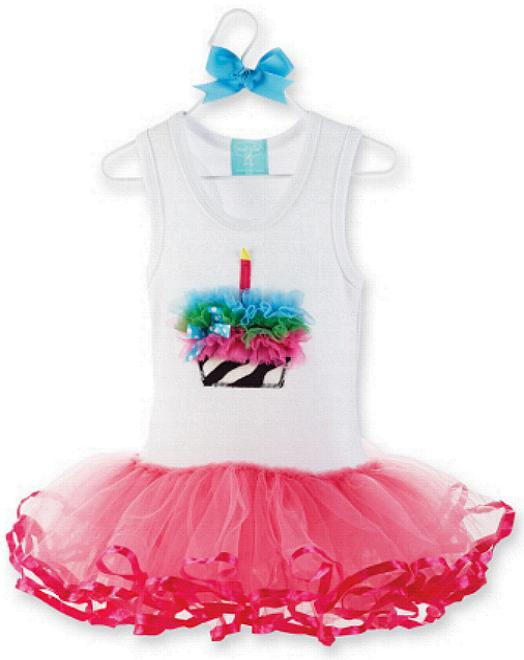1st Birthday Cupcake Outfit