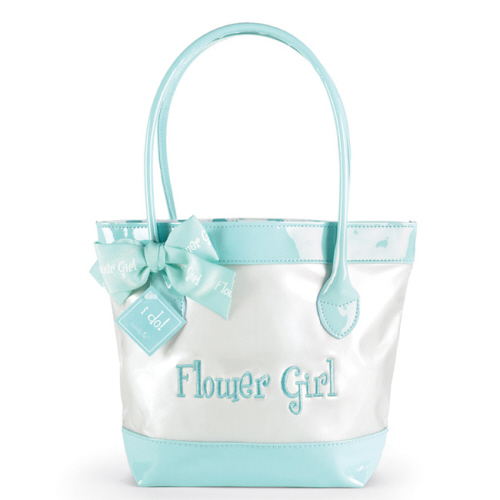 Flower Girl Patent Leather Tote