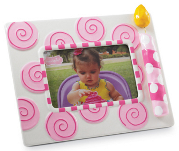 Girls First Birthday Frame