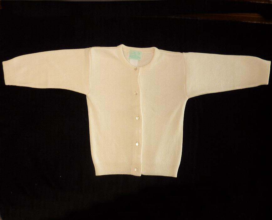 Girls Ivory Sweater
