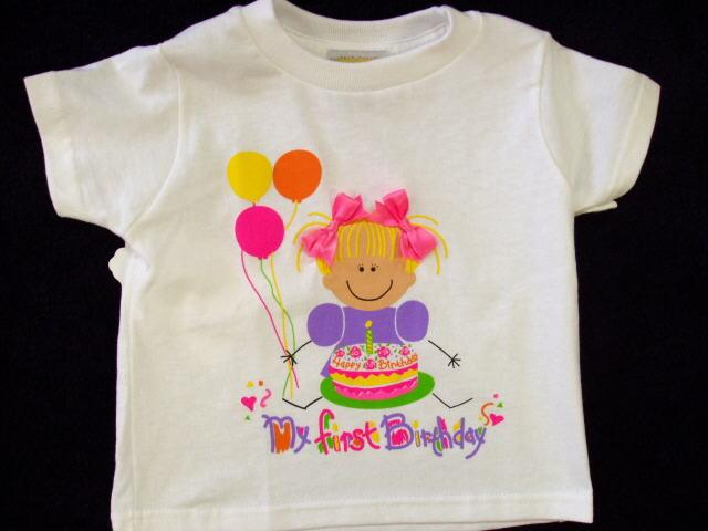 First Birthday Shirts