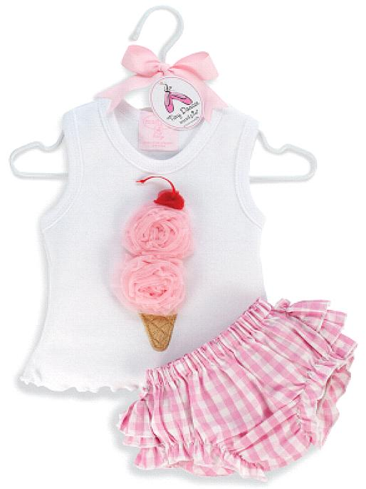 Ice Cream Bloomer Set