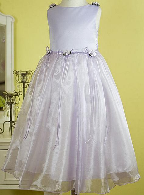 Girls Lavender Dress
