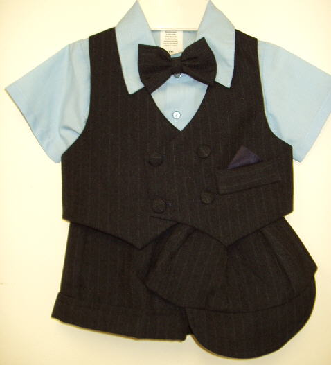Baby and Toddler Boys Short Suit Sets