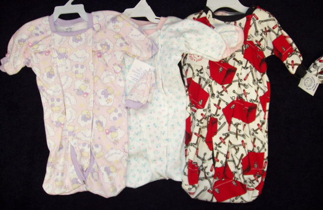 Preemie Hospital Gowns