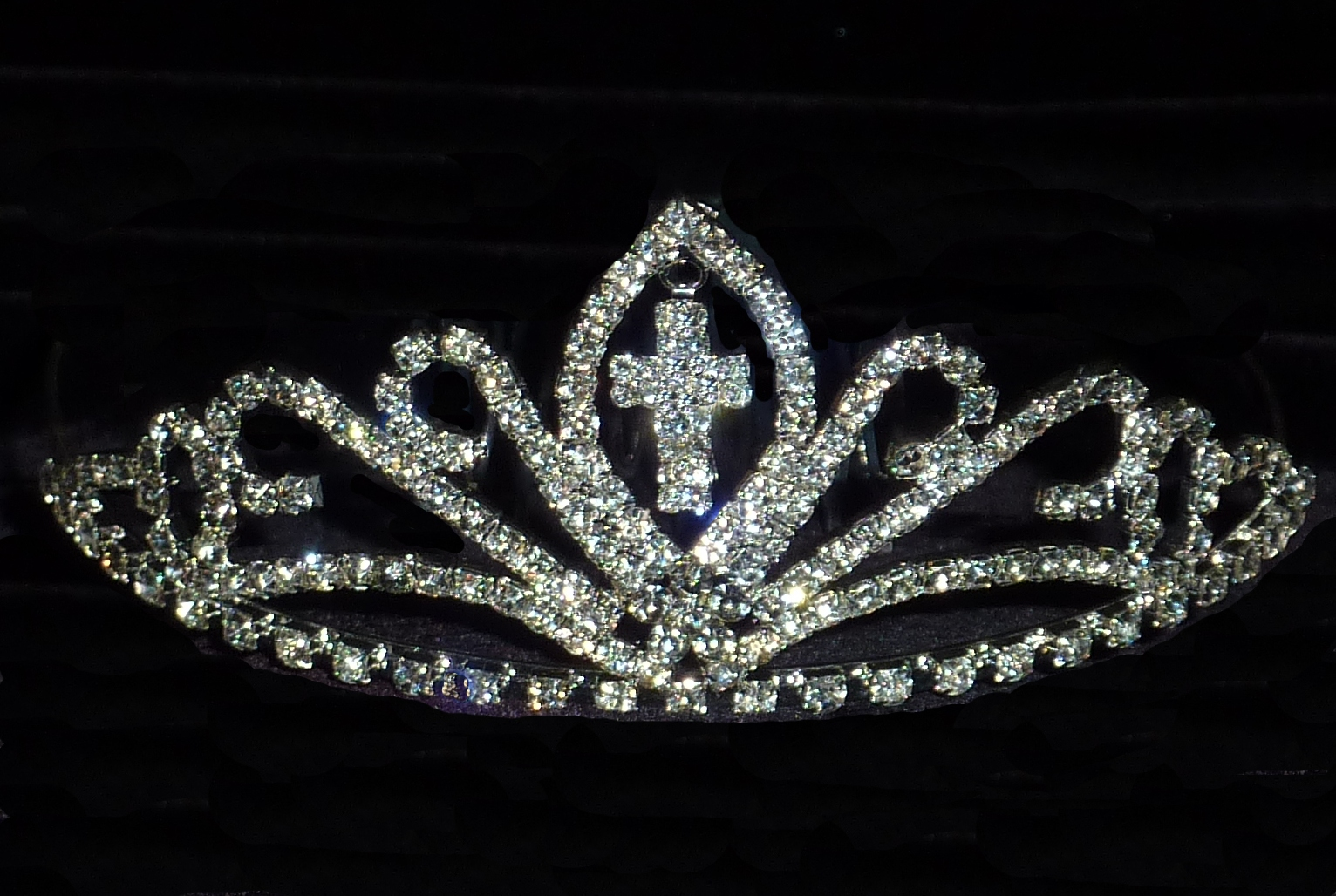rhinestone-cross-tiara