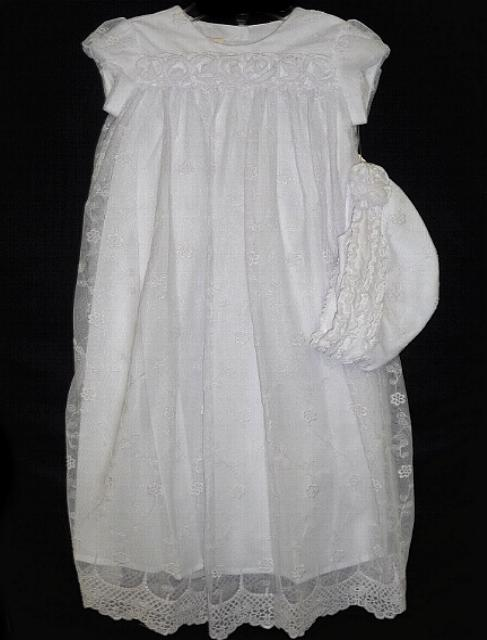 White Lace Baby Gown