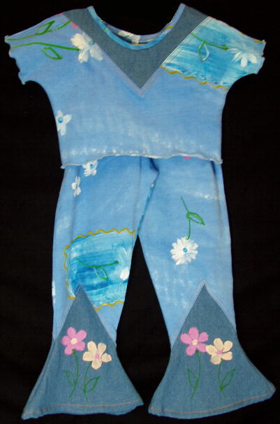 Indygo Artwear Blue Outfit